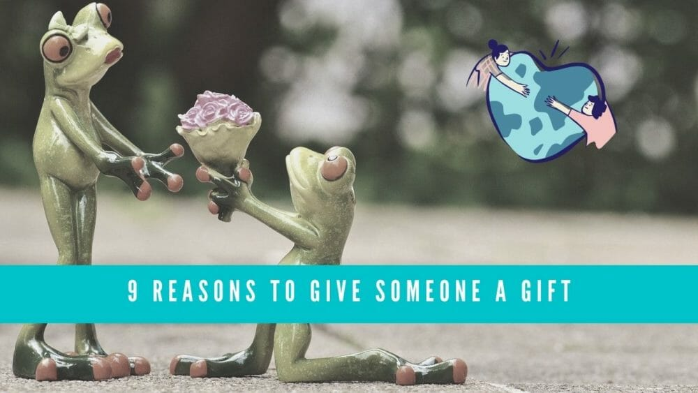 reasons to give a gift blog banner