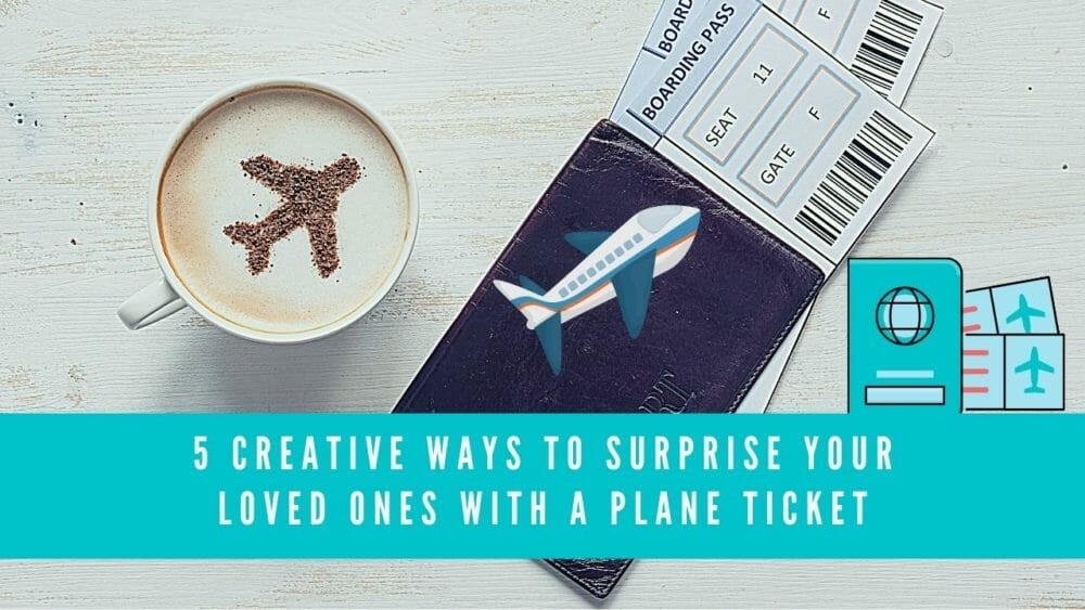 how to gift an airline ticket blog image banner